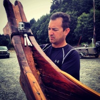 DP Daniel Mimura sets up the GoPro. Photo courtesy of Longhouse Media.