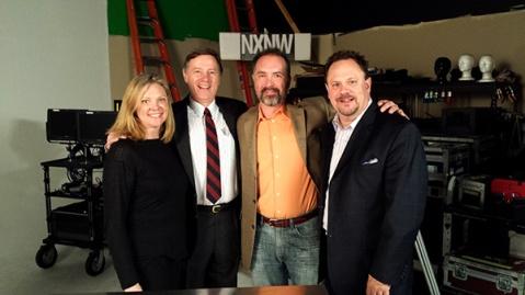 Amy Lillard, WF Executive Director, Rich Cowan, NxNW Founder, Greg Smith, WF Board Member, and Harry Sladich, WF Board Member.