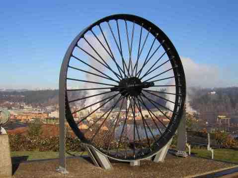 Big Wheel Saw Shelton Lookout, Photo Courtesy Shelton Mason County Chamber