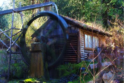 Darby Water Wheel, Photo by George Stenburg