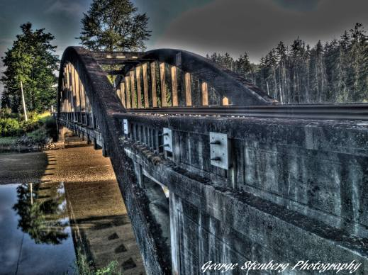 Hamma Hamma River at North Fork Bridge, P hoto by George Strenburg