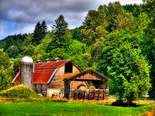 Hunter Farms Barn, Photo by George Stenburg